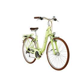 Cube Elly Ride - Bicicleta urbana - Easy Entry verde